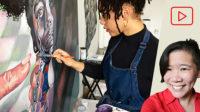 Leyla Faye, Painter