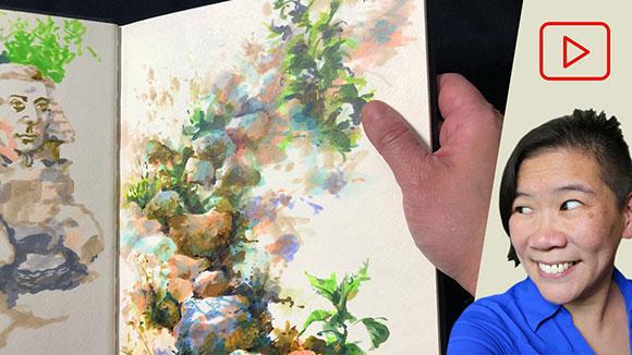 Sketchbooks, Clara Lieu