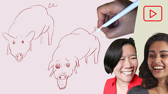 Procreate Animation: Pigs