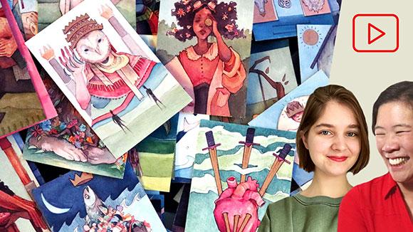 Tarot Card Deck Series, Mia Rozear