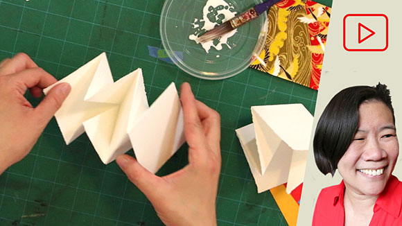 Artist Books: Lotus and Meandering Folds