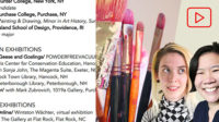 Artist Resumes and Curriculum Vitaes