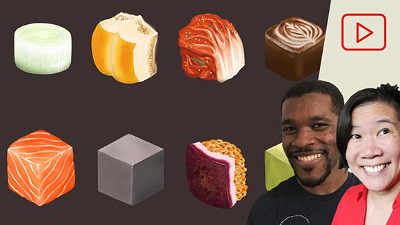 Digital Painting: Texture Cubes