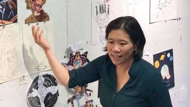 Clara Lieu, Art Prof